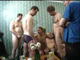 Amateur Blowjob Gangbang Old and Young Russian Teen