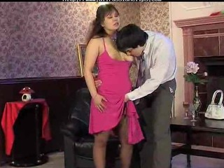 MILF Mom Old and Young Pantyhose Russian