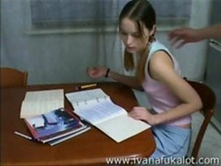 Pigtail Russian Student Teen