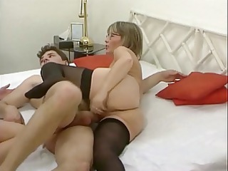 german lady and not her daughter in some groupsex