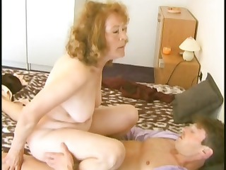 Amateur Mature Old and Young Riding