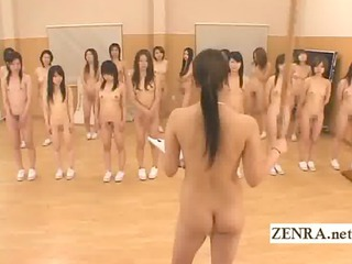 Asian Japanese MILF Nudist Student