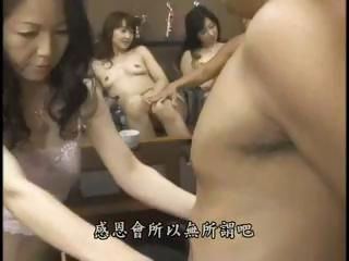 Asian Groupsex Japanese MILF Orgy