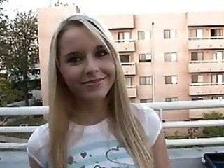 Amateur Cash Cute Outdoor Teen