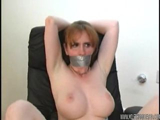 Big Tits MILF Office Slave