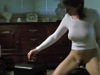 Hot Ass Mature Wife on Sybian