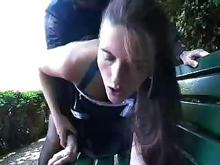 Amateur Clothed Doggystyle Outdoor Public Teen