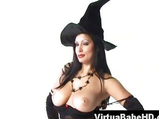 Aria Giovanni getting naked