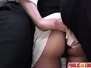 Ass Bus MILF Public