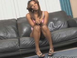 Black Ghetto Whore Face Fucked By Ebony Cock