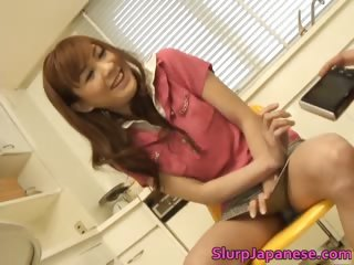 Asian Japanese Kitchen Masturbating Teen Uniform