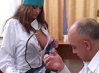 Daddy Natural Nurse Old and Young Teen Uniform