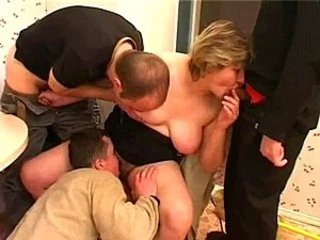 Amateur Blowjob Gangbang Licking Mature Mom Old and Young SaggyTits Small cock