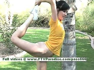 Flexible Outdoor Skinny Teen