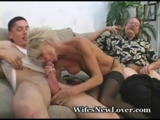 Older MILF Pleasured By Young Lover free
