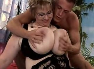 BBW Big Tits MILF Mom Natural Old and Young