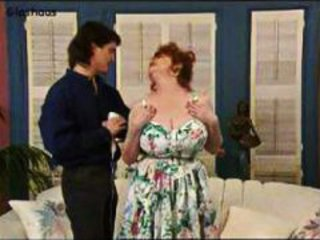 BBW Big Tits Mature Mom Natural Old and Young Redhead Vintage