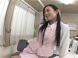 Asian Cute Office Teen