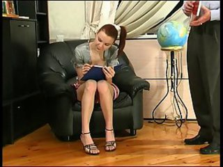 Russian Student Teacher Teen