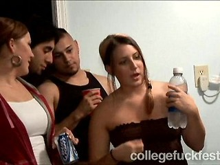tori black at college party