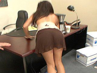 Ass Office Secretary Teen