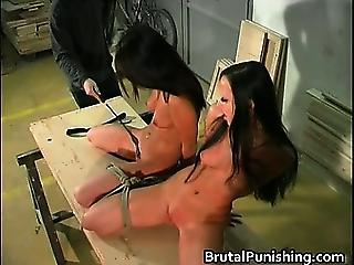 Twin Slaves And Two Times The Torment