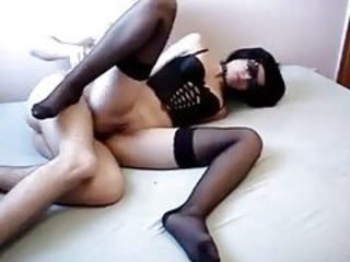 Amateur Bondage Fetish Girlfriend Homemade Lingerie Stockings