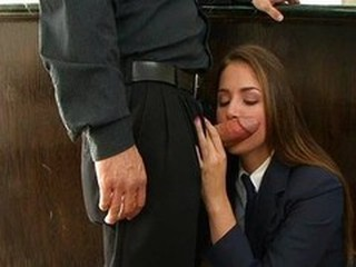 Blowjob Clothed Student Teen Uniform
