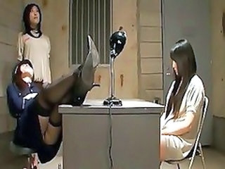 Japanese Lesbian Domination At The Prison