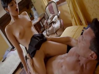 Daddy Old and Young Riding Teacher Teen