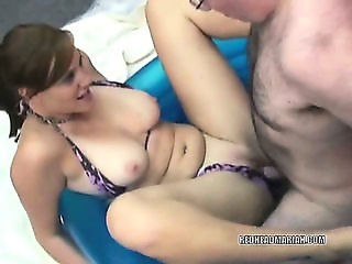 Swinging Mariah sharing a cock with two sluts