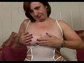 Hairy Horny Mature Loves to Fuck Herself