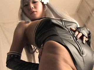 Amazing Asian Fetish Japanese Latex Teen
