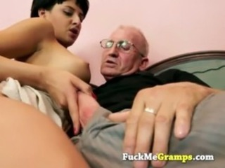 Handjob Old and Young