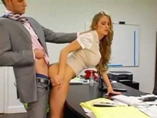 Amazing Clothed Doggystyle Hardcore Long hair MILF Office Secretary