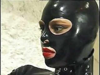 "Hot cat woman in leather suit does anything she wants to her horny slave"" target=""_blank"