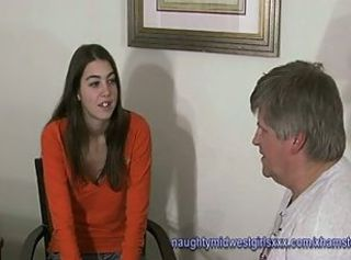 Hairy pussy hippy girl Marie babysitter interview