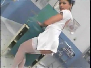 Asian Babe Nurse Stockings Uniform