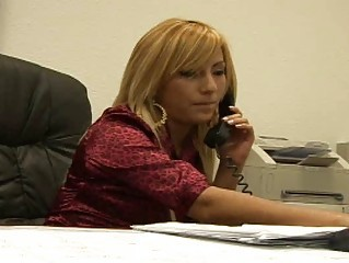 Latina MILF Office Secretary