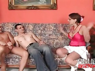 Girl turned on by guys fooling around tubes