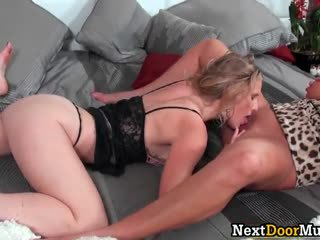 Busty incredible hot babe gets tiny