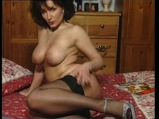 MILF Natural Solo Stockings