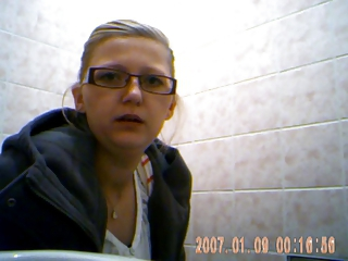 Nice young girl spied on toilet 2