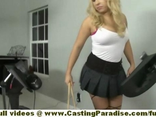 Ashley Reeves amateur sexy blonde teen with big natural..