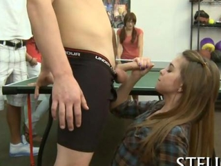 Handjob Party Public Student Teen