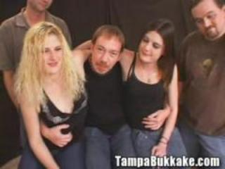"Two Girl Bukkake Tryout"" class=""th-mov"