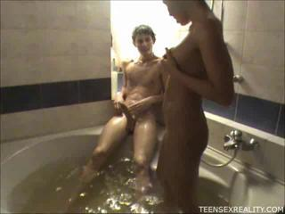 Bathroom Girlfriend Teen
