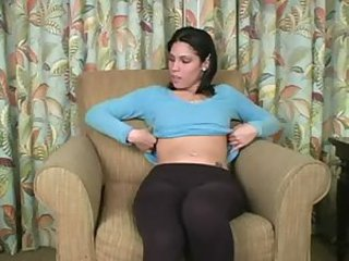 Latina babysitter wants to see it jerk your dick off for m