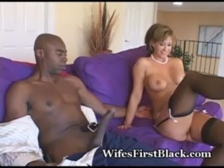 Big cock Interracial Mature Stockings