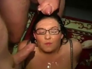 Amateur British Bukkake Chubby European Glasses Mature